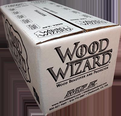 Wood Wizard Shipping Box