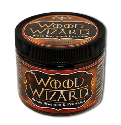 Wood Wizard Wood and Furniture Polish | Beautifies and Protects Wood